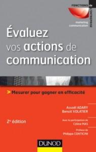 Evaluez Vos Actions De Communication DUNOD 2012